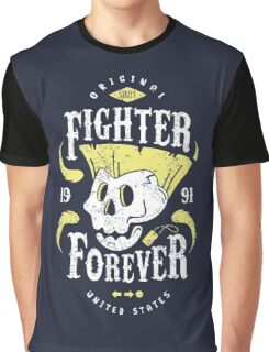 Fighter Forever Guile Graphic T-Shirt