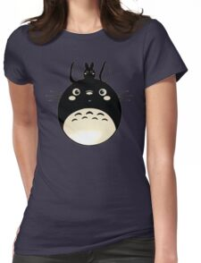 Totoro My Neighbour Womens Fitted T-Shirt