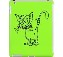 VeRy CrAzY CAt iPad Case/Skin