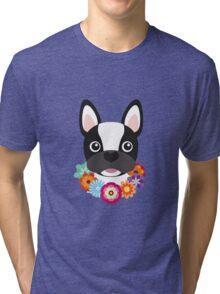 French Bulldog Tri-blend T-Shirt