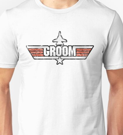 Top Gun Style Bachelor / Stag Party Shirt (Groom) Unisex T-Shirt