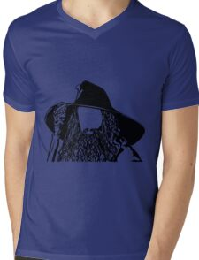 Ian as The Grey Wizard vacant expression Mens V-Neck T-Shirt