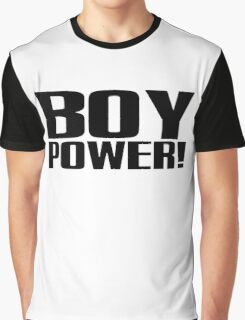 Boy Power! Graphic T-Shirt