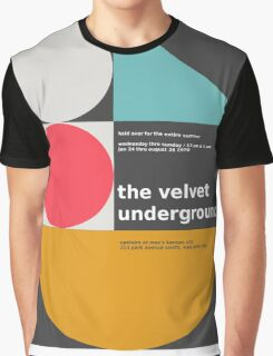 The Velvet Underground concert print Graphic T-Shirt
