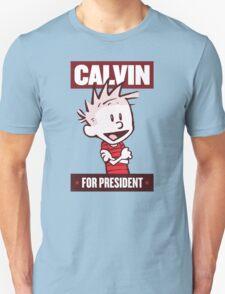 Calvin For President T-Shirt