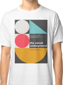 The Velvet Underground concert print Classic T-Shirt