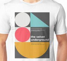 The Velvet Underground concert print Unisex T-Shirt