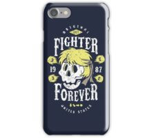 Fighter Forever Ken iPhone Case/Skin