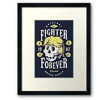 Fighter Forever Ken Framed Print
