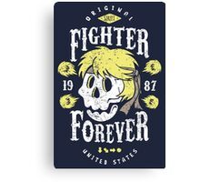 Fighter Forever Ken Canvas Print