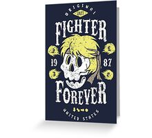 Fighter Forever Ken Greeting Card