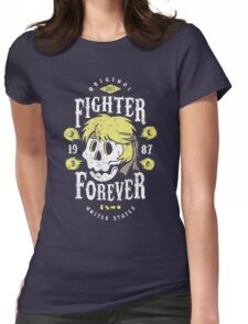 Fighter Forever Ken Womens Fitted T-Shirt