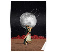Dance with the moon Poster
