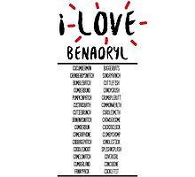 I Love Benedict Cumberbatch Photographic Print