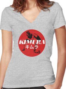 Kimura Women's Fitted V-Neck T-Shirt