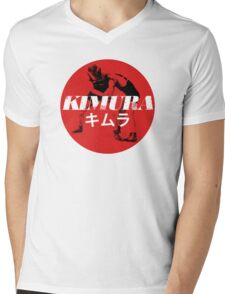 Kimura Mens V-Neck T-Shirt