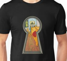 """Van gogh from the lock"" Unisex T-Shirt"