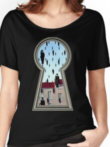 """Magritte from the lock"" Women's Relaxed Fit T-Shirt"