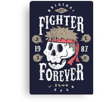 Fighter Forever Ryu Canvas Print