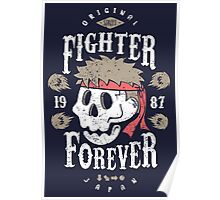 Fighter Forever Ryu Poster
