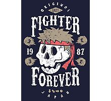 Fighter Forever Ryu Photographic Print