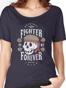 Fighter Forever Ryu Women's Relaxed Fit T-Shirt