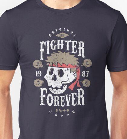 Fighter Forever Ryu Unisex T-Shirt