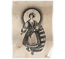 Scottish Female Poster