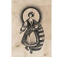 Scottish Female Photographic Print