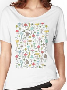 Mushrooms Women's Relaxed Fit T-Shirt
