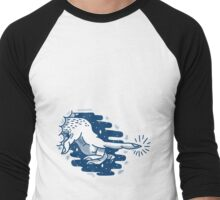 blue touch Men's Baseball ¾ T-Shirt