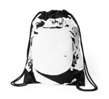 Marilyn - vacant expression Drawstring Bag