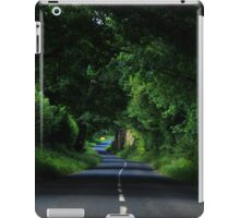 Winding road, Yorkshire iPad Case/Skin