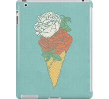 Rose ice cream iPad Case/Skin