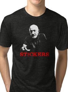 Stickers Tri-blend T-Shirt