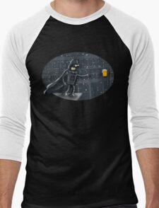 darth robot Men's Baseball ¾ T-Shirt