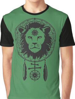 DREAM CATCHER : LION THE KEEPER Graphic T-Shirt