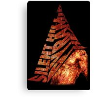 Silent Hill 2 - Pyramid Head Canvas Print