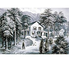 Chappaqua Farm, Westchester County, N.Y. - 1872 - Currier & Ive Photographic Print