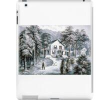 Chappaqua Farm, Westchester County, N.Y. - 1872 - Currier & Ive iPad Case/Skin