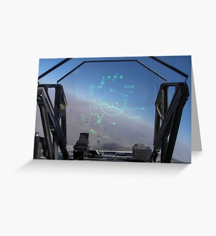The view out the front! Greeting Card