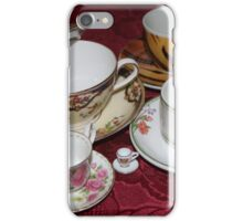 Cup & Saucers iPhone Case/Skin