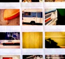 Polaroid: give us those nice bright colors Sticker