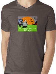 brain washed  Mens V-Neck T-Shirt