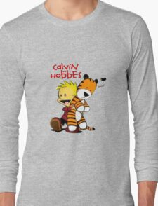 Calvin And doll hobbes Long Sleeve T-Shirt