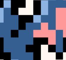 Pokemon 8-Bit Pixel Golbat 042 Sticker