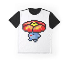 Pokemon 8-Bit Pixel Vileplume 045 Graphic T-Shirt