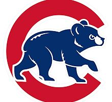 Chicago cubs by ikiwae