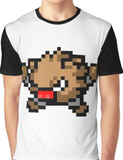 Pokemon 8-Bit Pixel Primeape 057 Graphic T-Shirt