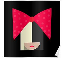 Sia (Black Background) Poster